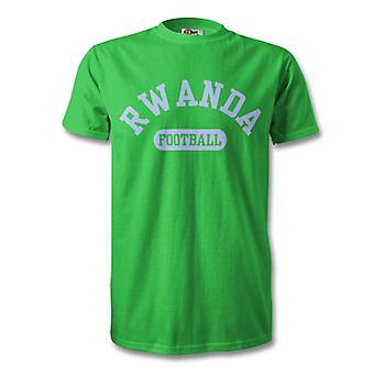 Camiseta de niños de fútbol de Ruanda