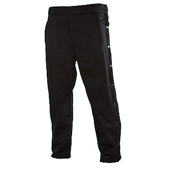 Funny Guy Mugs Retro Tearaway Sweatpants - Premium, Black, Size X-Large