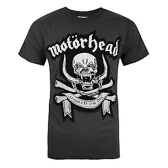 Amplified Motorhead March Men's T-Shirt Charcoal