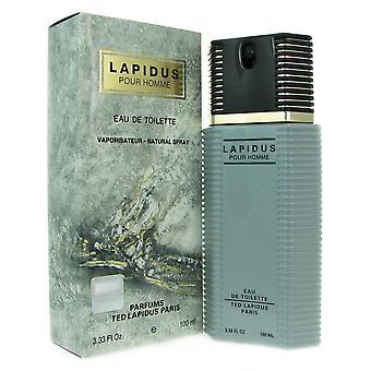 Lapidus pour homme par ted lapidus 3,33 oz 100 ml eau de toilette vaporisateur