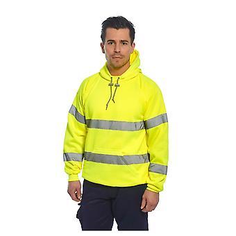 Portwest hi-vis hoodie sweatshirt b304