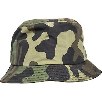 Flexfit by Yupoong Mens Camo Polyester Bucket Hat