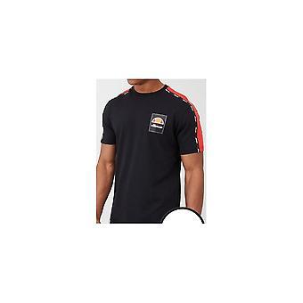 Ellesse Serchio Svart Bomull T-skjorte