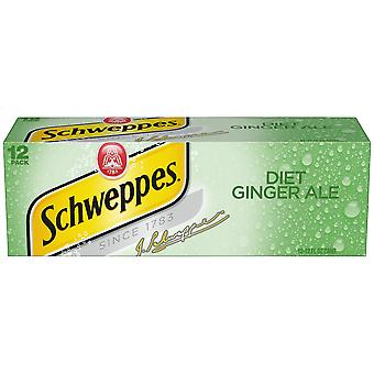 Schweppes Diet Ginger Ale-( 355 Ml X 12 Cans )