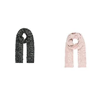 Intrigue Womens/Ladies Cable Knit Scarf