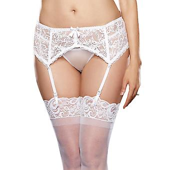 Plus Size Stretch Lace Garter Belt Lingerie- Fits size 16-22