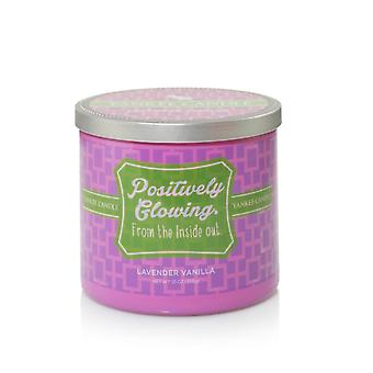 Yankee Candle Sentiments Positively Glowing Lavender Vanilla Tumbler