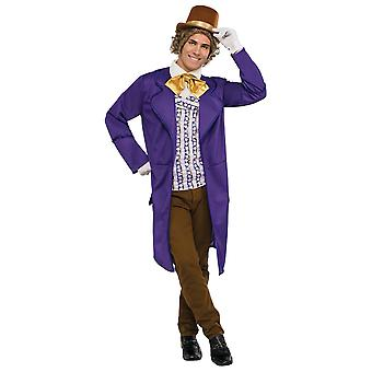 Willy Wonka et la chocolaterie Deluxe Book Week Adult Mens Costume STD