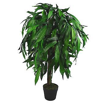 Planta del árbol de Mango Artificial gran altura 100cm