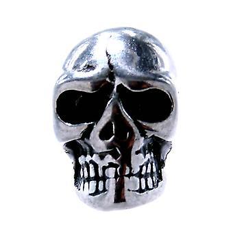 Beard bead dead head 4mm - stainless steel