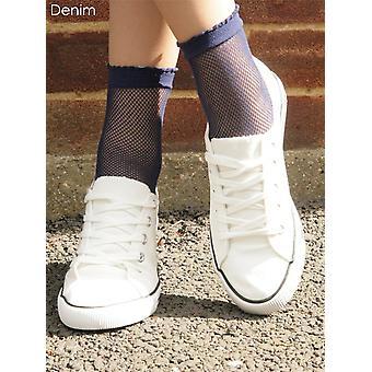 Gipsy Fishnet Ankle Socks