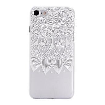 White Mandala - iPhone SE (2020)
