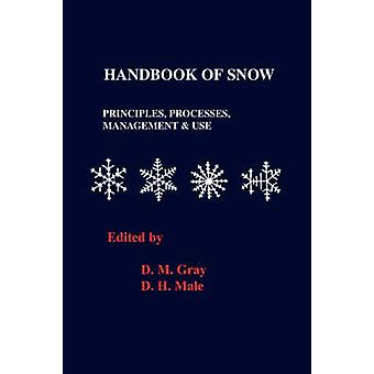 Handbook of Snow Principles Processes Management and Use by Grey & D. M.