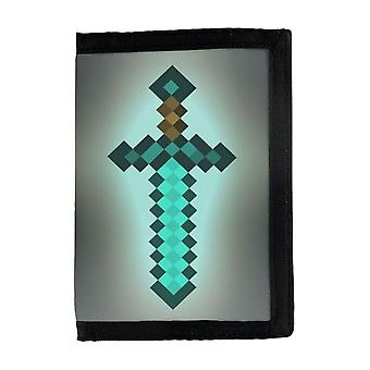 Minecraft Diamond Sword Portemonnee