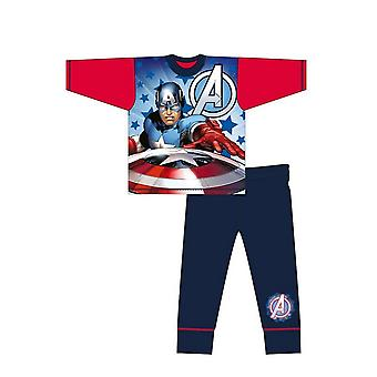 Avengers Boys Captain America Pyjama Sæt