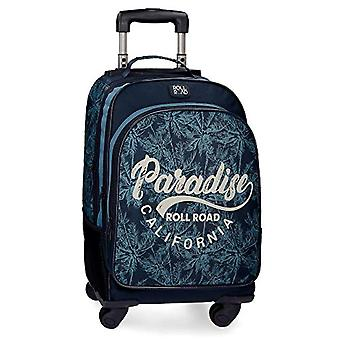 Roll Road Palm Backpack - 44 cm - Blue (Azul)