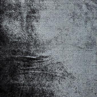 McAlister têxteis brilhantes cinza carvão esmagado cortinas de veludo