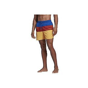 Adidas Colorblock Krótkie spodnie letnie DY6401 water summer