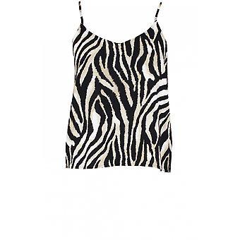 b.young Zebra Print Camisole