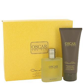 Oscar Gift Set por Oscar de la Renta 3.4 oz Eau De Toilette Spray + 6,7 oz cabelo & lavagem do corpo
