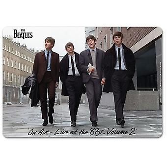The Beatles Mouse Mat Pad On Air Live at the BBC Band Logo new Official