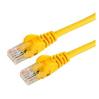 Hypertec 1m CAT5 RJ45 LAN Ethenet Network Yellow Patch Lead
