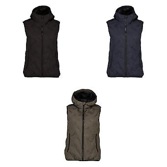 ID Womens/Ladies Quilted Fitted Sleeveless Vest