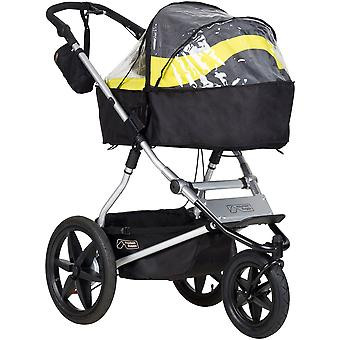 Mountain Buggy Urban Jungle, Terrain & +One Carrycot Plus Storm Cover