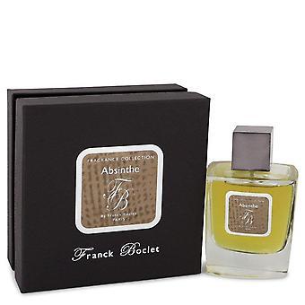 Franck boclet absinthe eau de parfum spray (unisex) by franck boclet 543660 100 ml