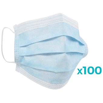 Carethy Clinical Mask 3 Layer Antivirus Protection 100 pcs