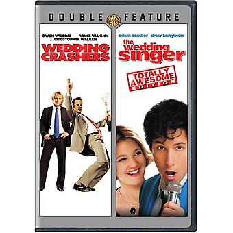 Wedding Singer/Wedding Crashers [DVD] USA import