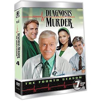 Diagnosis Murder: Complete Fourth Season [DVD] USA import