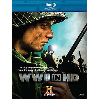 WWII in Hd [BLU-RAY] USA import