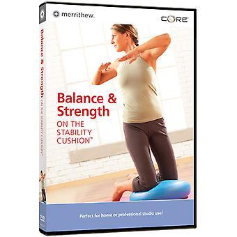 Balance & Strength on the Stability Cushion [DVD] USA import