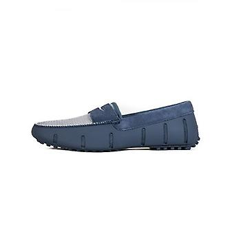 Zwemt Leisteen Blue Penny Lux Driver Loafer