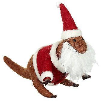 Feutre T-Rex Santa