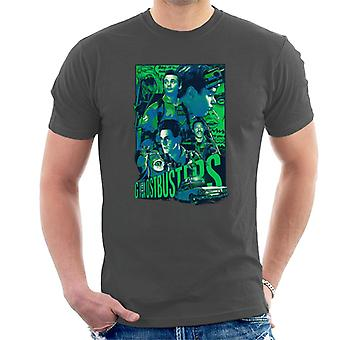 Ghostbusters Comic Style Poster Men's T-Shirt