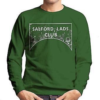 Salford pojat Club merkki harmaasävyt miesten svetaripaita