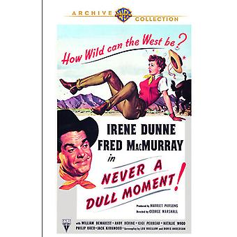 Never a Dull Moment [DVD] USA import