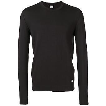 Crew Neck Cotton Crepe Sweater