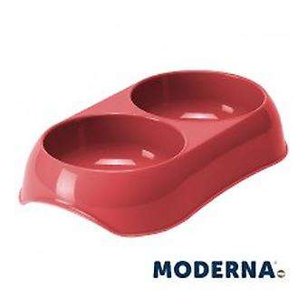 Moderna Comedero Gusto Doble 2x0,2L (Dogs , Bowls, Feeders & Water Dispensers)