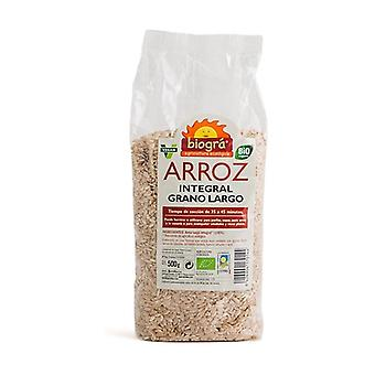 Organic Long Grain Brown Rice 500 g