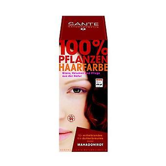 Vegetable Powder Dye Mahogany 100 g of powder