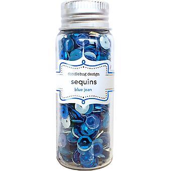 Doodlebug Design Blue Jean Sequins