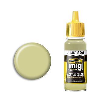 Ammo by Mig Acrylic Paint - A.MIG-0904 Dunkelgelb High Light (17ml)