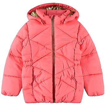 Namn-it Girls Vinterkappa Milton Puffer Neon Pink