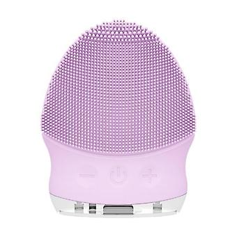 Electric Facial Cleansing Brush - Sonic Vibration Cleaner For Deep Pore