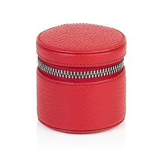 Richmond nahka pyöreä hely laatikko punainen