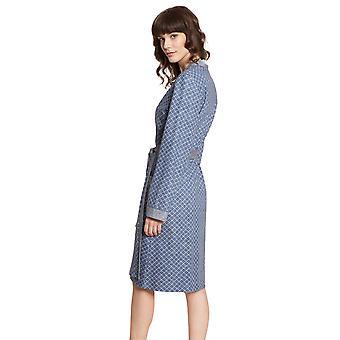 Rösch Pure 1203565-16544 Women's Tweed Pockets Robe