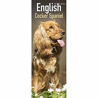Otter House 2021 Slim Kalender-cocker Spaniel